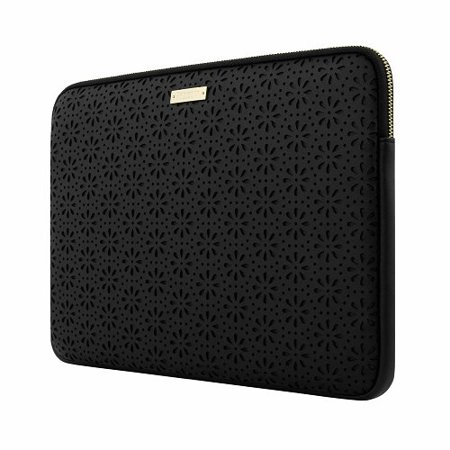 81a863d23d8f kate spade new york Perforated Sleeve for 13  MacBook Laptop - Black  (KSMB-016-BLK) - Walmart.com