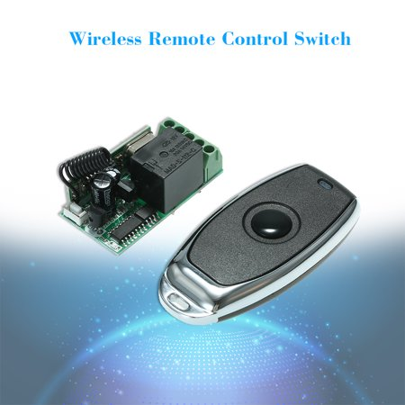 433Mhz DC 12V Universal RF Remote Control Switch Relay Receiver Module Mini 1CH Wireless Control Switch + 5PCS RF 433 Mhz Transmitter Remote Controls For Household Appliances Electronic Lock Control 1 - image 2 of 7