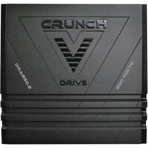 CRUNCH 800W 2CH CAR AMP
