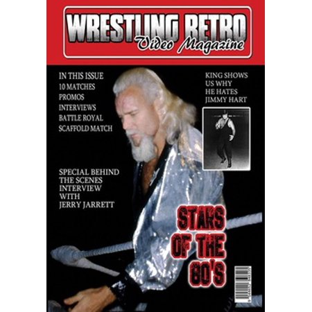 Wrestling Retro Stars of the 80s (DVD)