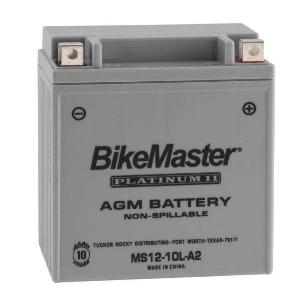 BikeMaster AGM Platinum II Battery MS12-10LA2 For Suzuki