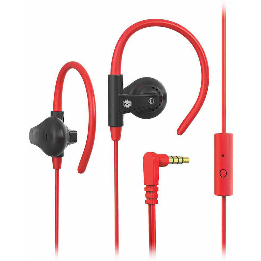 MQbix Aerofones Sports Earhook Earphones with Mic