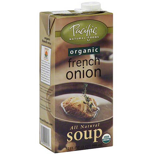 Pacific Natural Foods Organic French Onion Soup, 32 oz (Pack of 12)