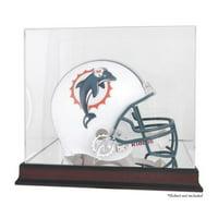Mounted Memories NFL Helmet Logo Display Case