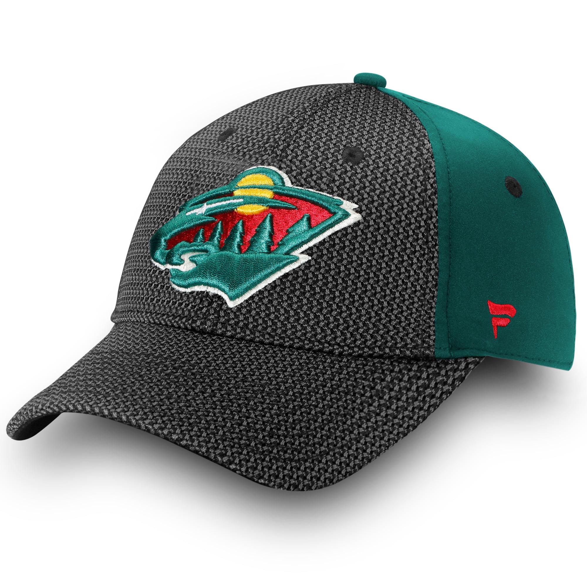 Minnesota Wild Fanatics Branded Made2Move Alpha Adjustable Hat - Black - OSFA