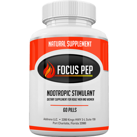 Addrena Focus Pep Over The Counter Stimulants To Speed Up Naturally
