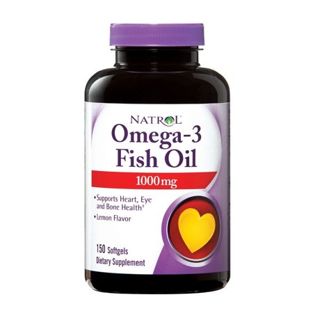 Omega 3 1000Mg  150 Softgel  Ship From Usa Brand Natrol