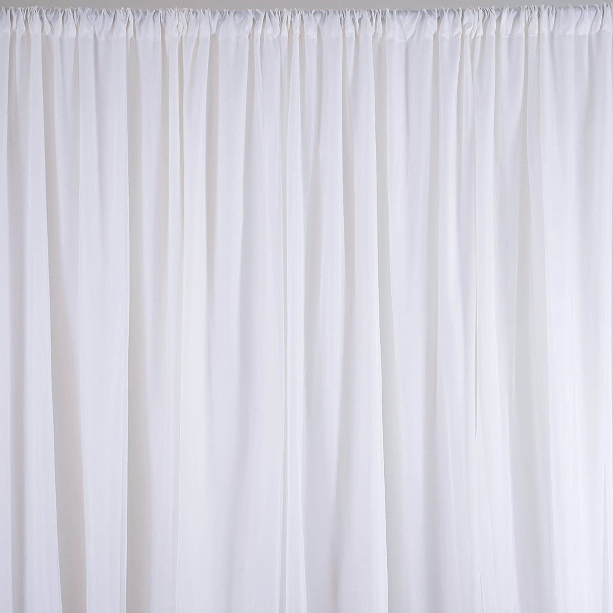 M White Fabric Backdrop D Curtains