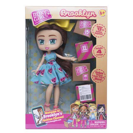 Boxy Girls BROOKLYN 8 inch Doll With 4 Surprise
