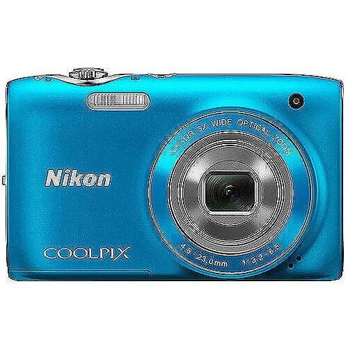"Nikon COOLPIX S3100 14MP Digital Camera w/ 5x Optical Zoom, 2.7"" LCD Display"