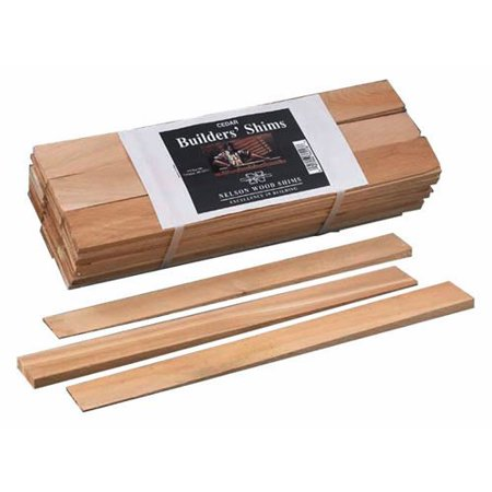 132 Snap - Wood Shims 16 Wood Shim, These shims are easy to cut and have an excellent snap. Shims are 16 long and tapered from 5/16 down to 1/32. 42 shims per bundle, 10.., By Nelson