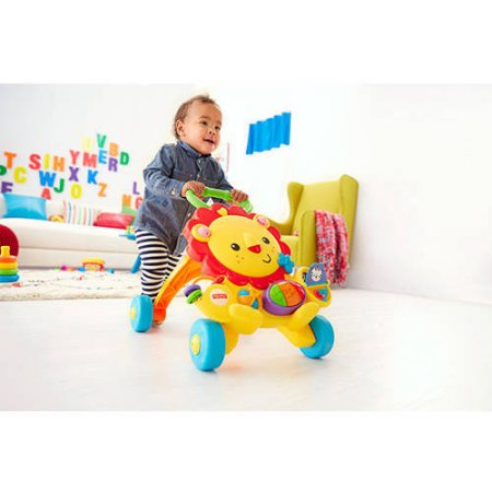 fisher price musical lion baby walker activity toddler toy infant learning seat ebay. Black Bedroom Furniture Sets. Home Design Ideas
