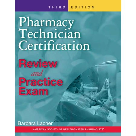 Pharmacy Technician Certification Review and Practice Exam - Walmart.com