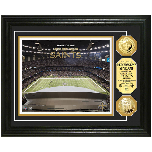 NFL Highland Mint, Gold Coin Photomint, Mercedes-Benz Superdome