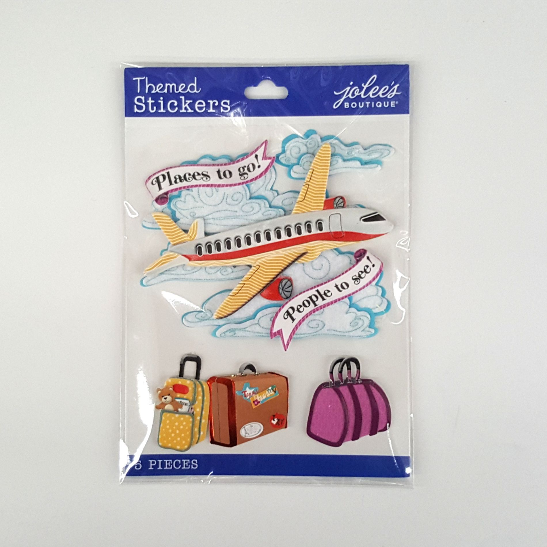 TAKING OFF airplane travel JOLEE/'S BOUTIQUE STICKERS