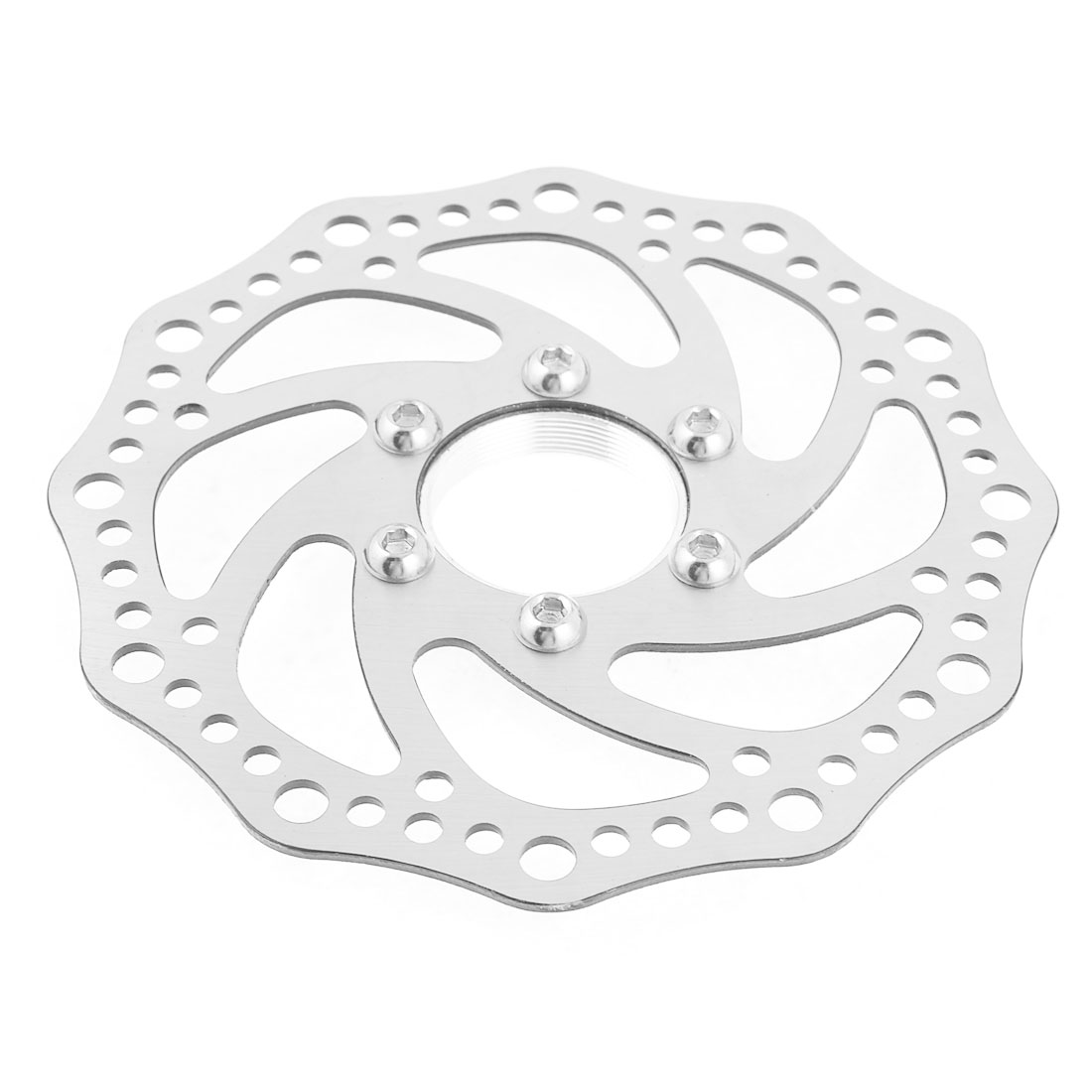 "Bike Bicycle Replacement Metal 5.5"" Diameter Front Rear Brake Disc"
