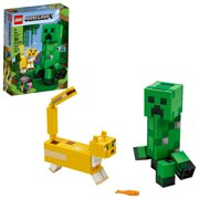 LEGO Minecraft Creeper BigFig and Ocelot 21156 Figurine Building Toy (184 Pieces)