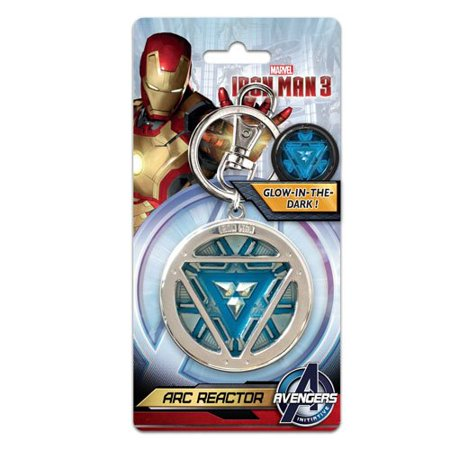 Marvel Iron Man 3 Arc Reactor Pewter Key Ring - image 1 of 1
