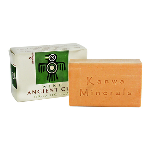 Zion health, inc Natural Clay Soap Wind, 6 oz