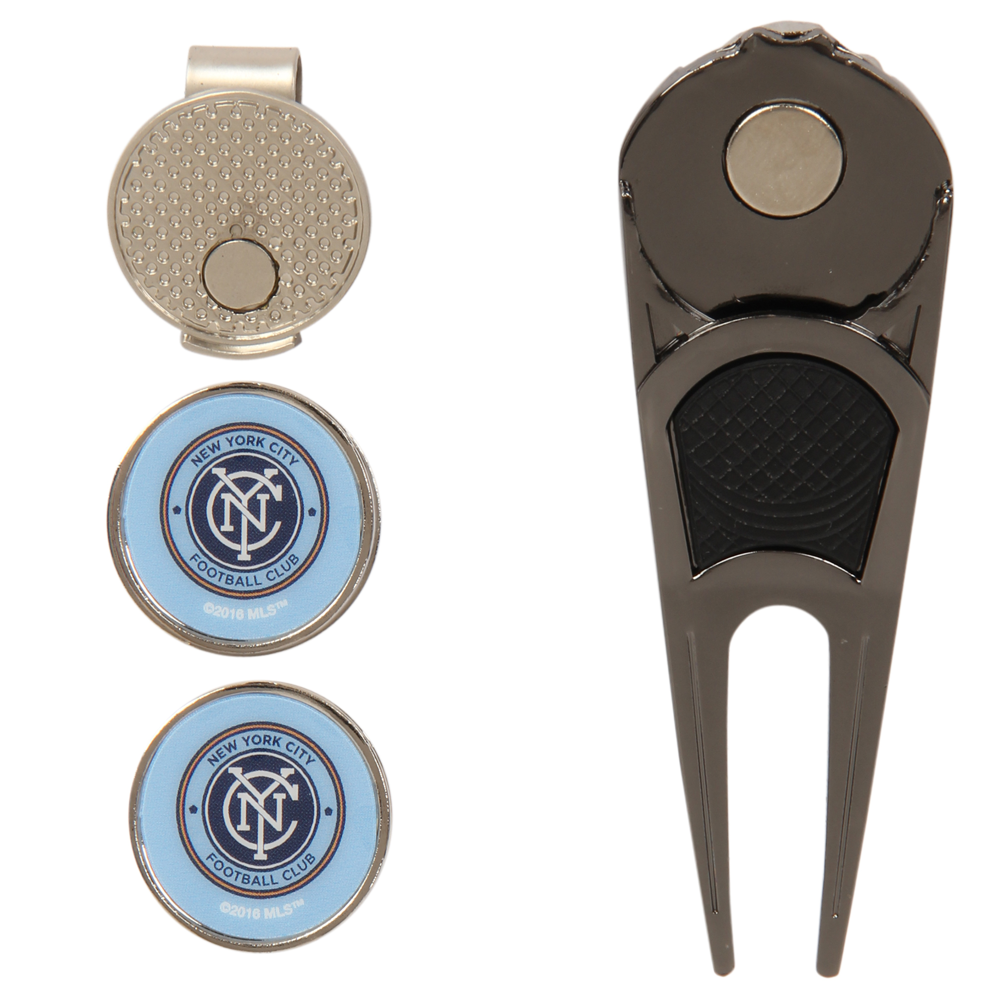 New York City FC WinCraft Divot Tool & Hat Clip Combo Set - No Size