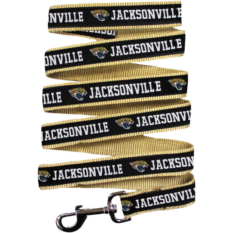 Pets First NFL Jacksonville Jaguars Pet Leash