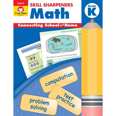 Skill Sharpeners Math Grade K - Walmart.com