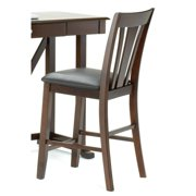 Bernards V Back Counter Height Stool