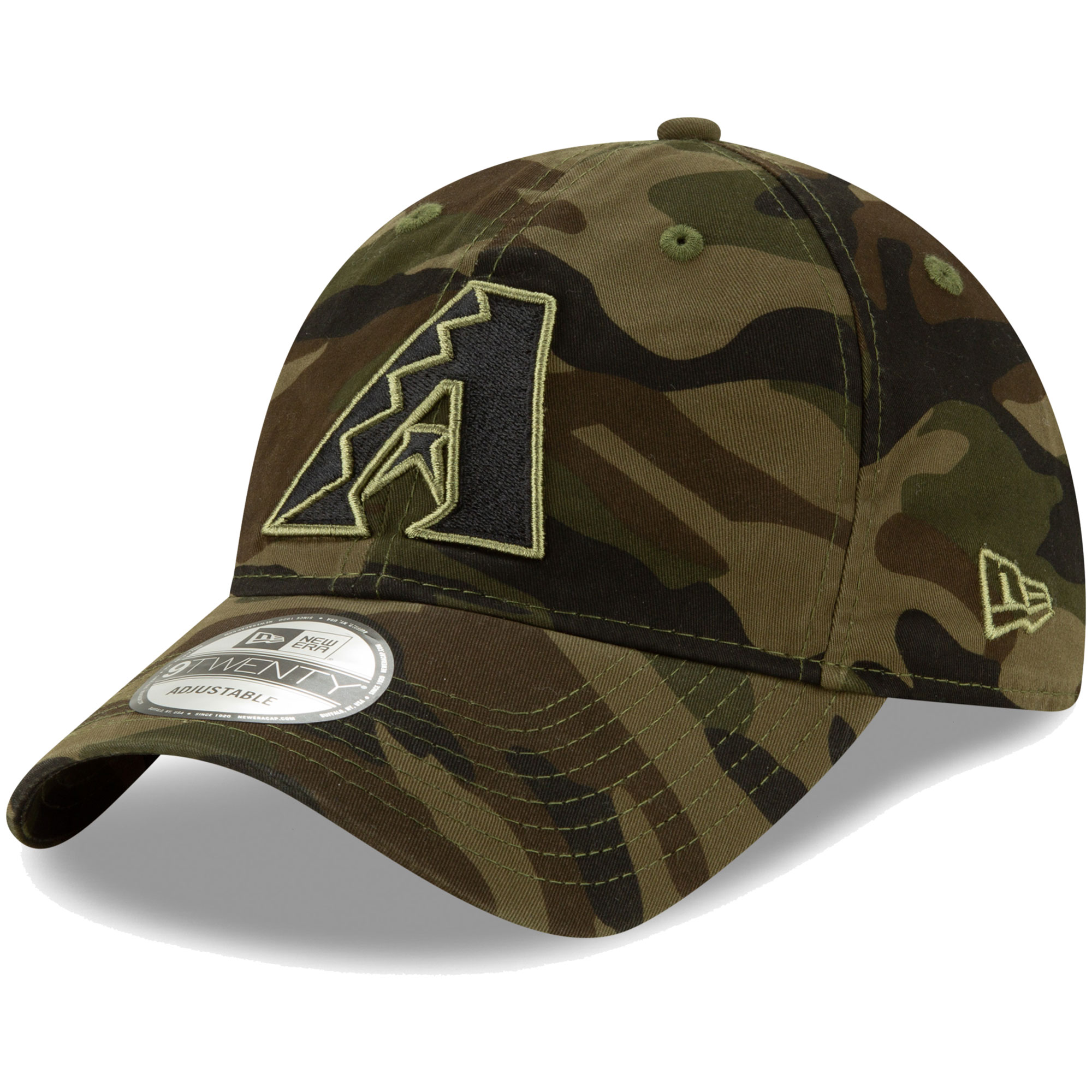 Arizona Diamondbacks New Era Tonal Camo Core Classic 9TWENTY Adjustable Hat - Camo - OSFA