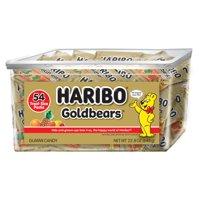 Haribo Goldbears Original Gummy Bear Treat Packs, 0.5 Oz (54 Pouches)