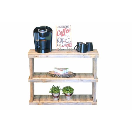 - Three Tier Natural Console
