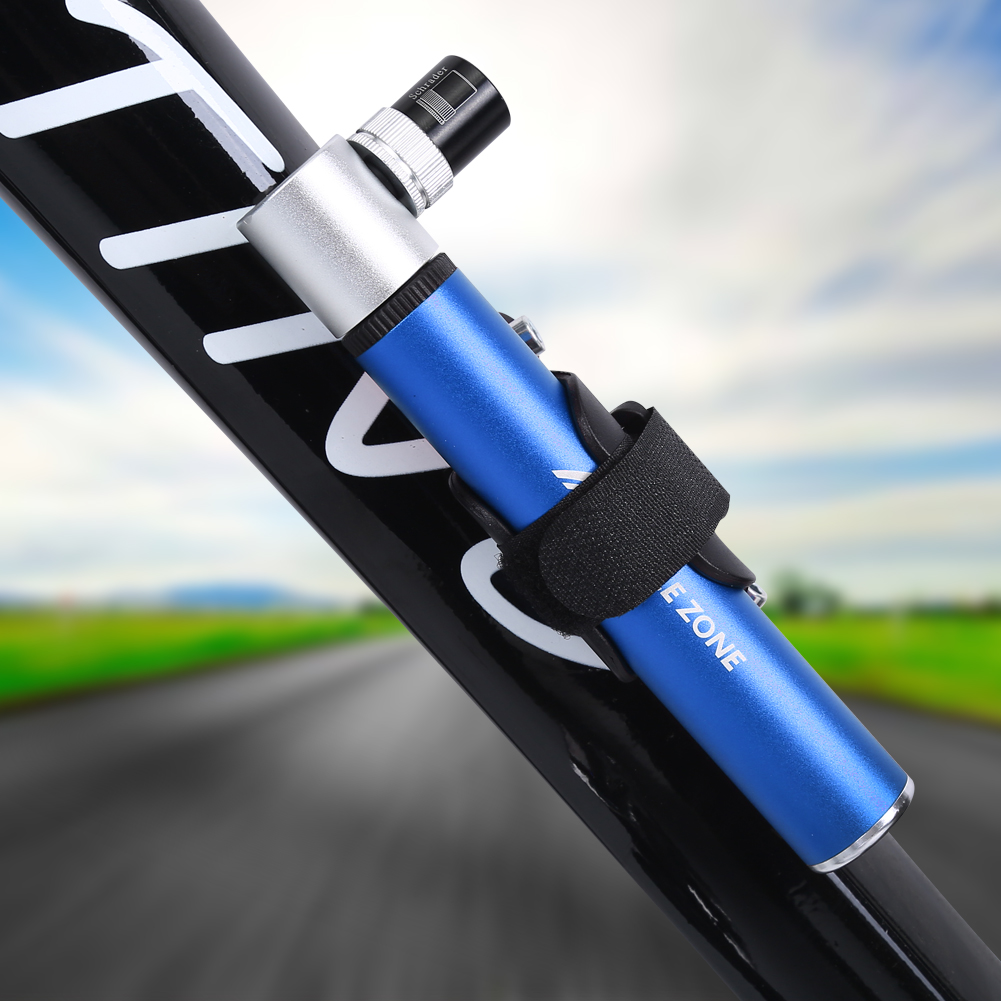 Portable Mini Bicycle Inflator Tire Pump Bike Air Cycling Tyre Hand Pressure, Hand Pressure Bicycle Inflator, Bicycle Inflator