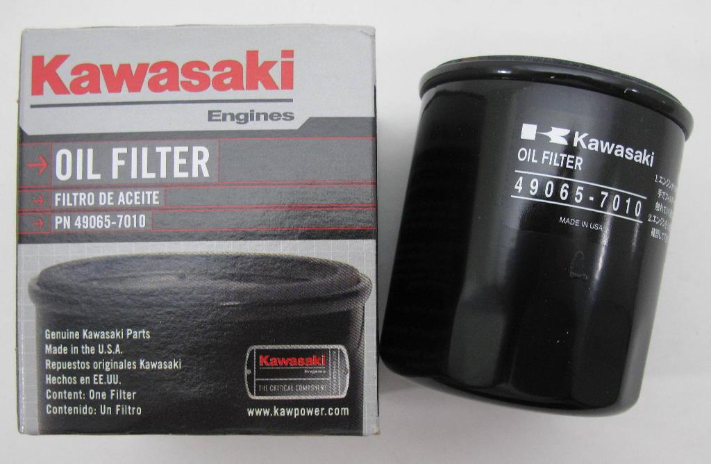 Oil Filter Kawasaki Engines Fh381-721v John Deere Husqvarna Toro Mowers 49065-7010