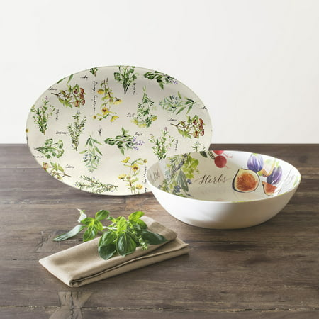 Mainstays Melamine Vegetable Serve Bowl