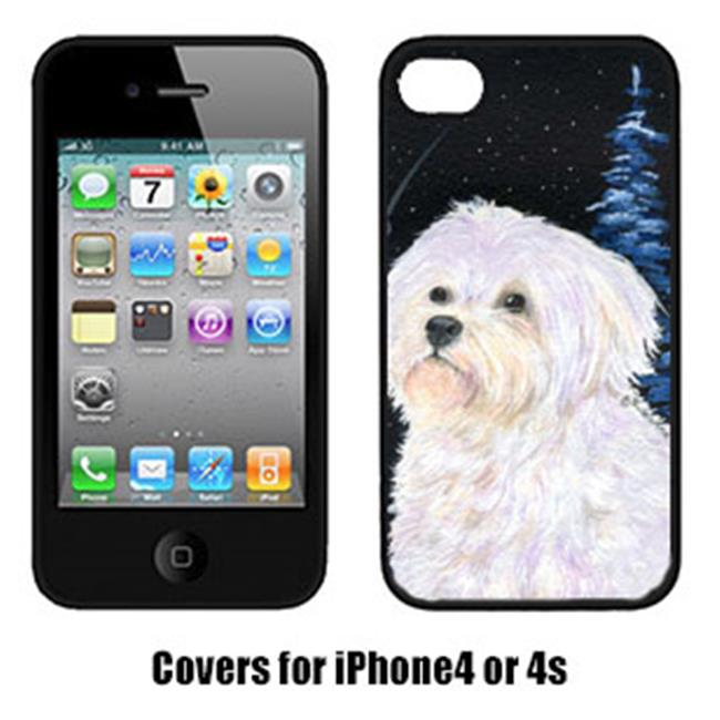 Starry Night Maltese Cell Phone cover IPHONE4