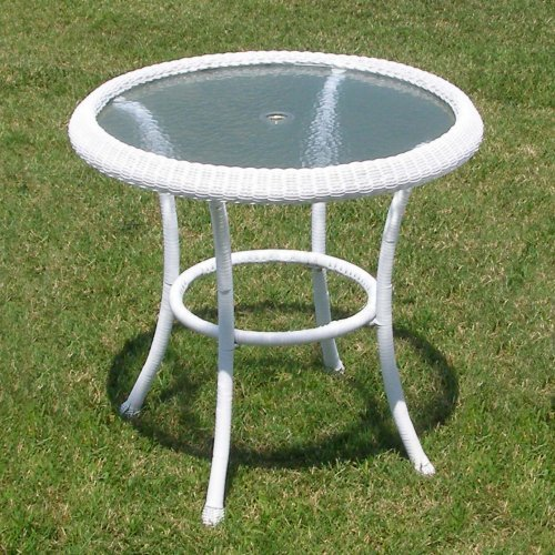 Harbor All Weather Wicker Bistro Table
