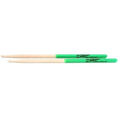 Zildjian Zildjian Maple Dip Series Drumsticks - Super 7A, Wood T... (5-pack)
