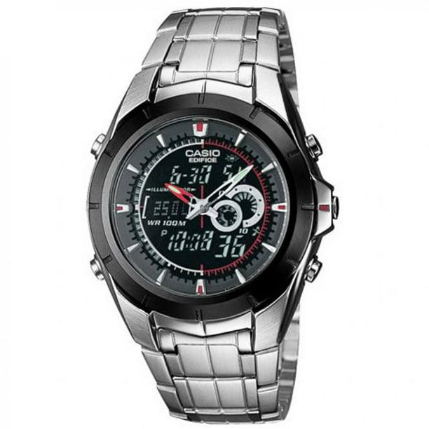 Casio Men's Twin Sensor Chronograph Thermometer Watch