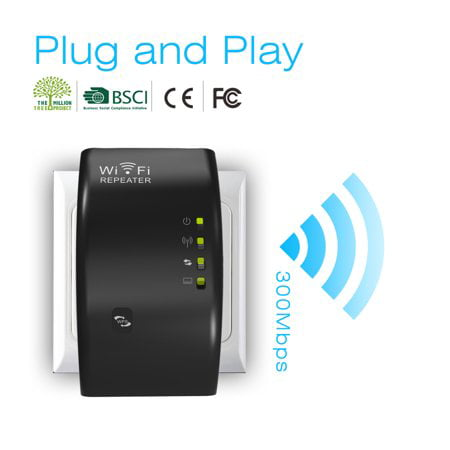 Wavlink N300 W iFi Extender 300Mbps W iFi WLAN Range Extender WI-FI Repeater Signal Amplifier Booster 802.11n/b/g WPS TRAVELS