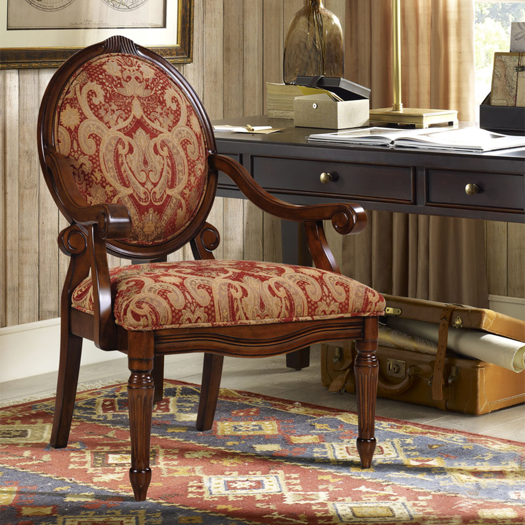 Madison Park Brentwood Exposed Wood Arm Chair Walmart Com