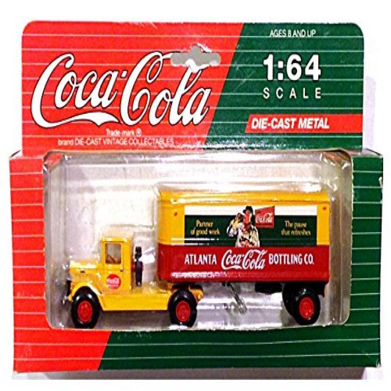 Coca-Cola Vintage Mack Model BM Tractor-Trailer Diecast -...