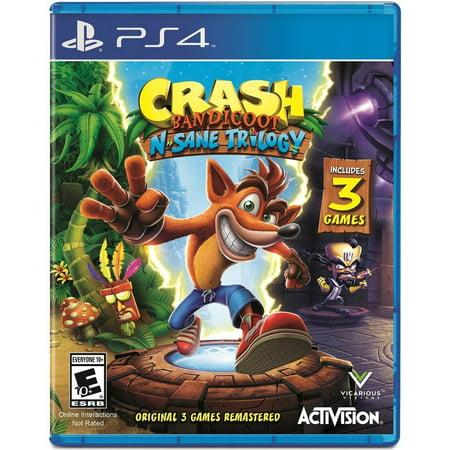 Crash Bandicoot N. Sane Trilogy, Activision, PlayStation 4, (Crash Bandicoot Tag Team Racing)