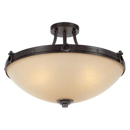 (Savoy House Elba 6-201 Semi-Flush Mount Light)