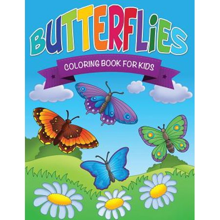 Butterfly Kids (Butterflies Coloring Book for)