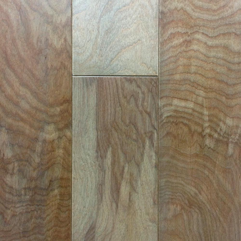 Take Home Sample - Birch American Silvered Engineered Click Hardwood Flooring - 5 in. x 7 in.