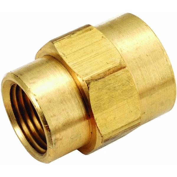Yellow Brass Reducing Coupling
