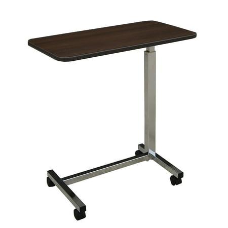 Medline - MDS104015 Overbed Bedside Table with Wheels for Home, Nursing Home, Assisted Living, or Hospital use