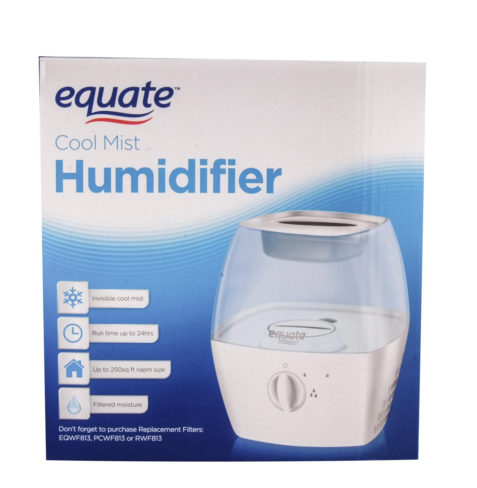 Walmart Humidifier No Filter equate cool mist humidifier - walmart