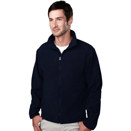Tri-Mountain Men's Lightweight Fleece Zipper Jacket