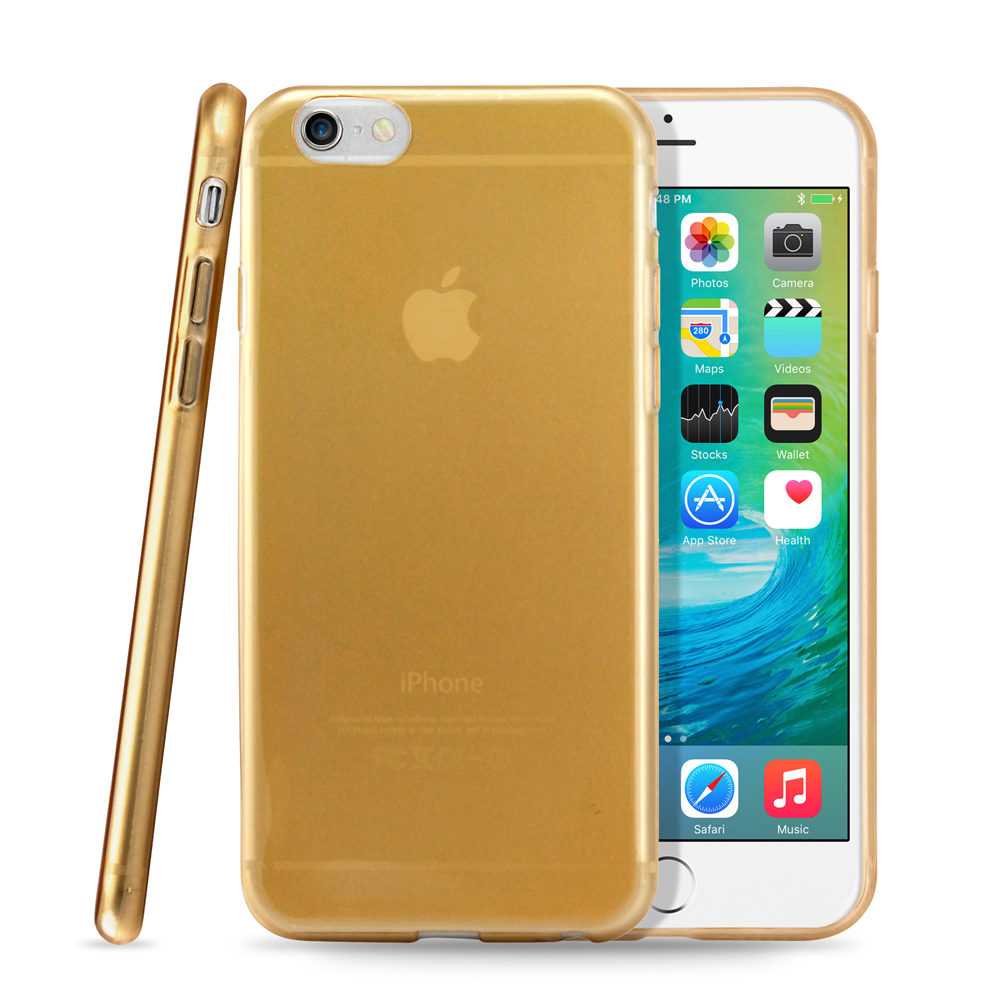 """Ultra Thin Clear TPU Transparent Clear Skin Case Cover for Apple iPhone 6 / 6S 4.7"""""""