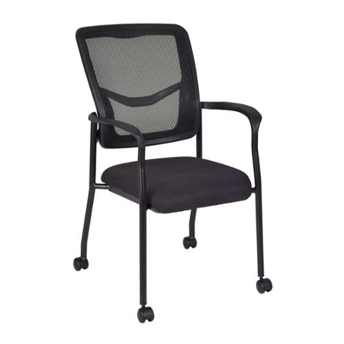 Regency Kiera Stack Chair 5175BK Casters: with casters